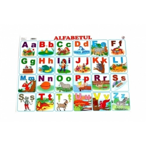 Planşa A4 - Alfabetul