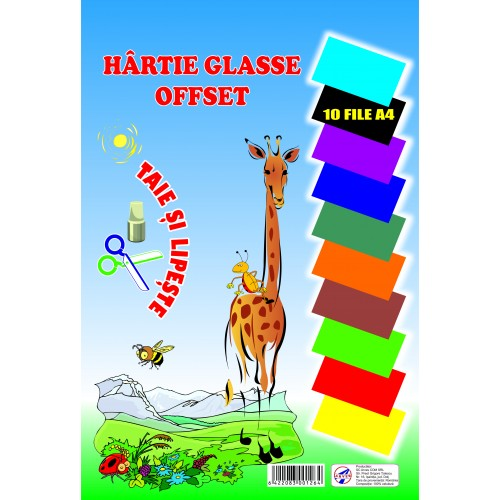 Hârtie glasse offset